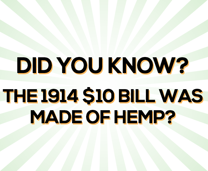 hempdollar - Hemp 10 Dollar Bill