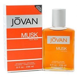 Jovan Musk By Jovan For Men. Aftershave Cologne 8 Ounces by Jovan