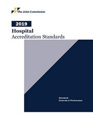 2019 Hospital Accreditation Standards