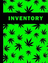 Cannabis dispensary sales inventory: Weed store sales / stock inventory book