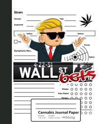 Cannabis Journal Paper: WSB Logo Options Day Trading Book