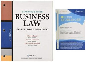 Bundle: Business Law and the Legal Environment, Standard Edition, Loose-leaf Version, 8th + MindTap Business Law, 1 term (6 months) Printed Access Card